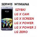 LG X Cam ,X Power, Zero,X Power 2, Screen wymiana szybki