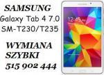 Samsung Galaxy Tab 4 7' T230 T235 wymiana szybki dotyku