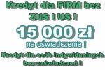 15 000 zł na OŚWIADCZENIE dla FIRM bez ZUS i US i OSÓB INDYWIDUALNYCH – bez zaświadczeń!